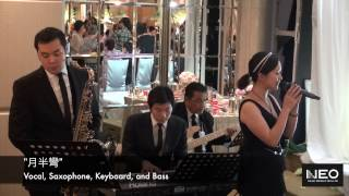 Vocal, Saxophone, Keyboard, and Bass - Wedding Band Hong Kong - Neo Music Production