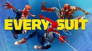 Spider-Man PS4 - ALL 28 Spidey Suits (SPOILERS!)
