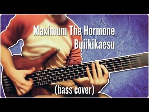 Maximum The Hormone - Buiikikaesu (bass cover type of thing)