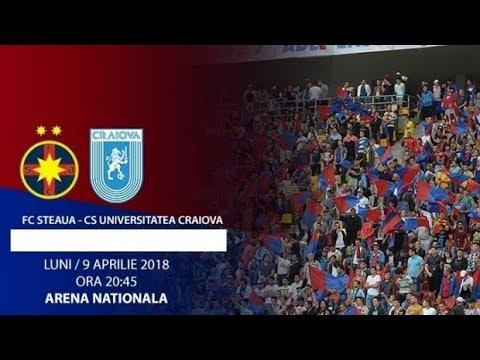 FCSB vs CS UNIVERSITATEA CRAIOVA 2-0 + REACTII HD Liga 1 Betano (Etapa 4 Play-Off) 09.04.2018