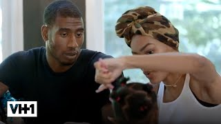 Daddy Iman Shumpert's Salon Time w/ Junie | Teyana & Iman