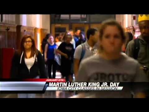 Martin Luther King Jr. Day events in Iowa City, Cedar Rapids
