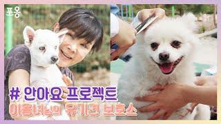 [안아요 프로젝트] 배우 이용녀 님의 유기견 보호소를 가다!