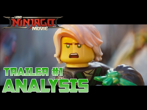 First Ninjago Movie Trailer! - Unscripted Analysis - The LEGO Ninjago Movie (2017)