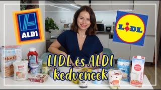 Lidl és Aldi kedvencek - Miket szoktam vásárolni | Viszkok Fruzsi