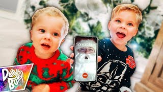 REAL SANTA FACETIME CALL! 🎅 📱
