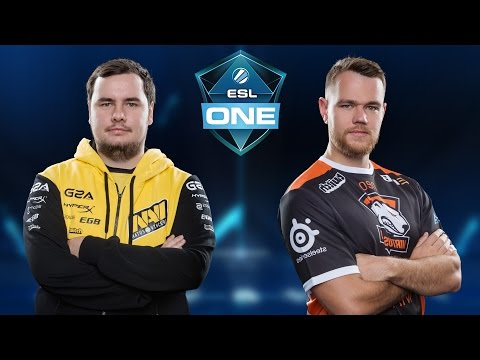CS:GO - NaVi vs. Virtus.Pro [Cobblestone] Map 1 - ESL One New York 2016 - Grand Final
