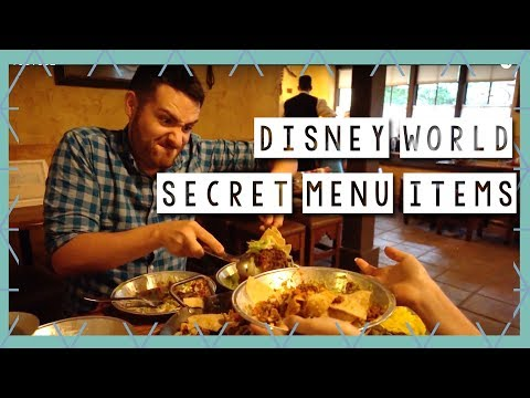 Magic Kingdom Secret Menu Items | Walt Disney World Vlog August 2017