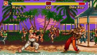 Super Street Fighter II the New Challengers (Mega Drive) 1/4 thumbnail