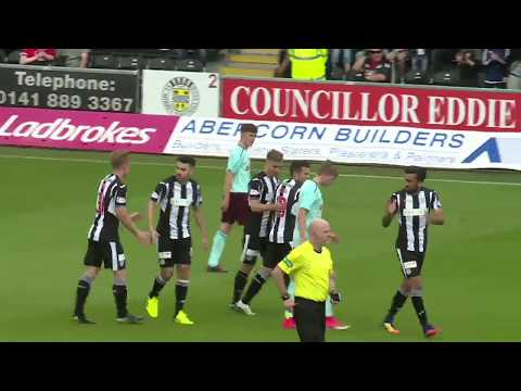 GOALS   St Mirren 3-1 Hearts Colts