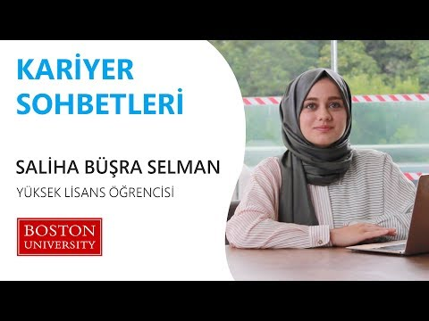 Saliha Büşra Selman @Boston University (BU)