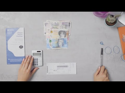 How To Prepare Cash/cheque Deposits At The Post Office & Registering For Cash Exchange | Royal Bank