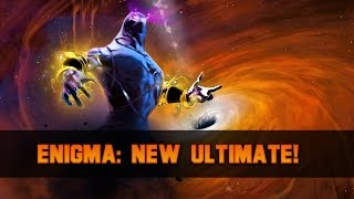 Dota 2 Enigma: World Chasm Artifact (New Black Hole Effect)