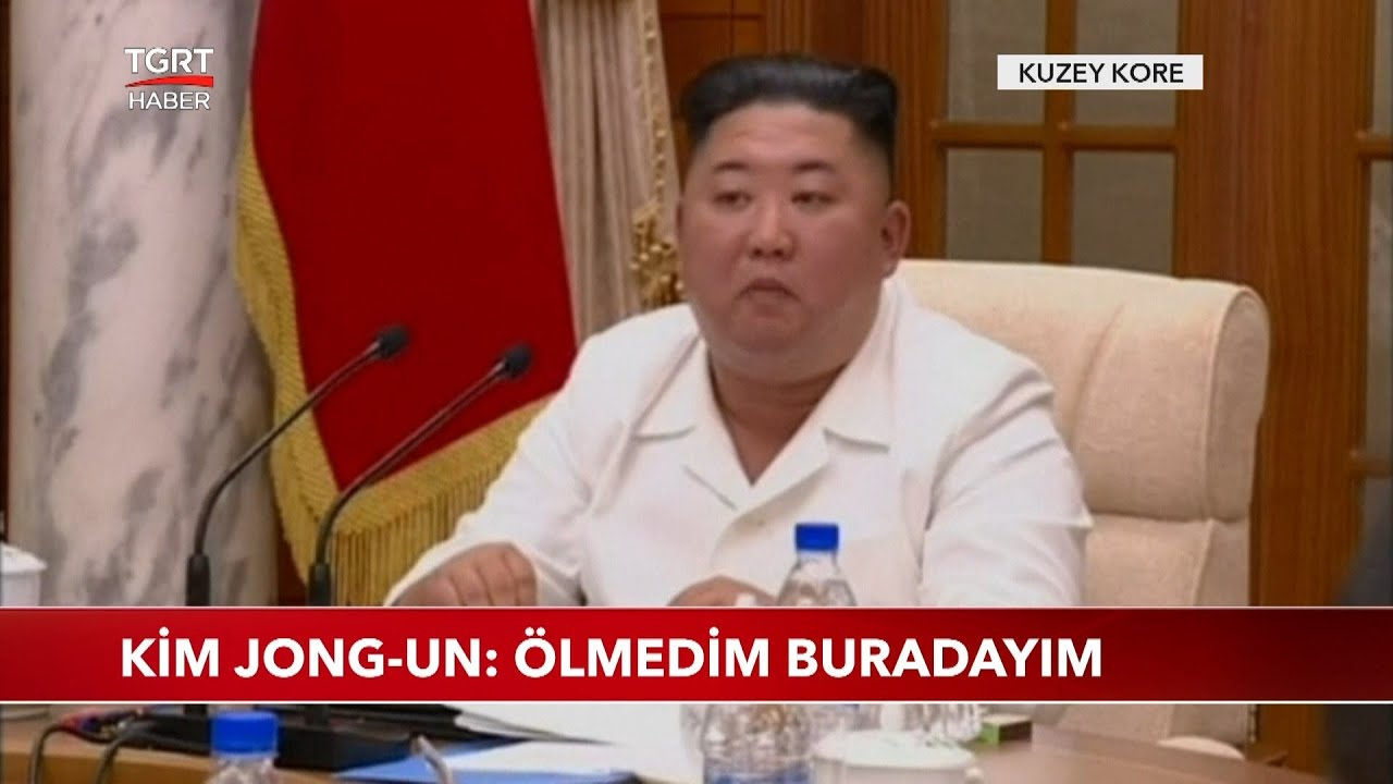 Öldü Denilen Kuzey Kore Lideri Kim Jong-un Ortaya Çıktı