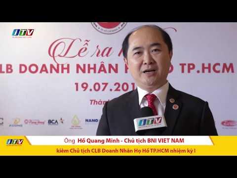 Ra mắt CLB Doanh Nhân họ Hồ tại TP.HCM