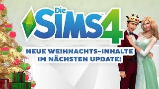 Neue Weihnachts-Inhalte für Die Sims 4! | Short-News | sims-blog.de