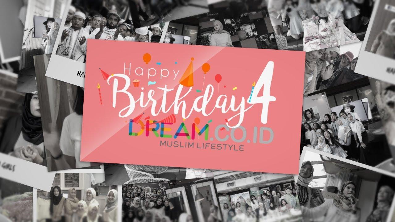Happy Birthday Dream.co.id