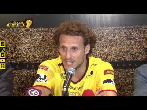 Presentación de Jugador para la Noche Amarilla | DIEGO FORLÁN