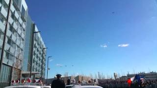 Dedicating the new NYPD Police Academy