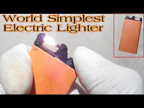download World Simplest Electric Lighter No Nichrome [Rechargeable][Very easy][Powerful]