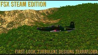 [FSX SE] FIRST LOOK: TerraFlora- By Turbulent Designs
