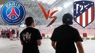 PSG vs Atletico Madrid live in Singapore