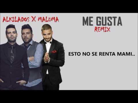 Me Gusta (Remix) Ft Maluma (Letra/Lyrics)