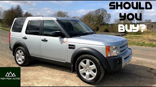 Should You Buy a LAND ROVER DISCOVERY 3? (LR3 TEST DRIVE & REVIEW)