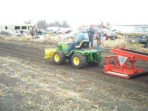 Custom John Deere Garden Tractor At Rockford