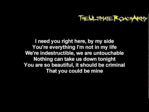 Papa Roach - No Matter What {Lyrics on screen} HD