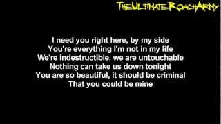 Papa Roach - No Matter What {Lyrics on screen} HD