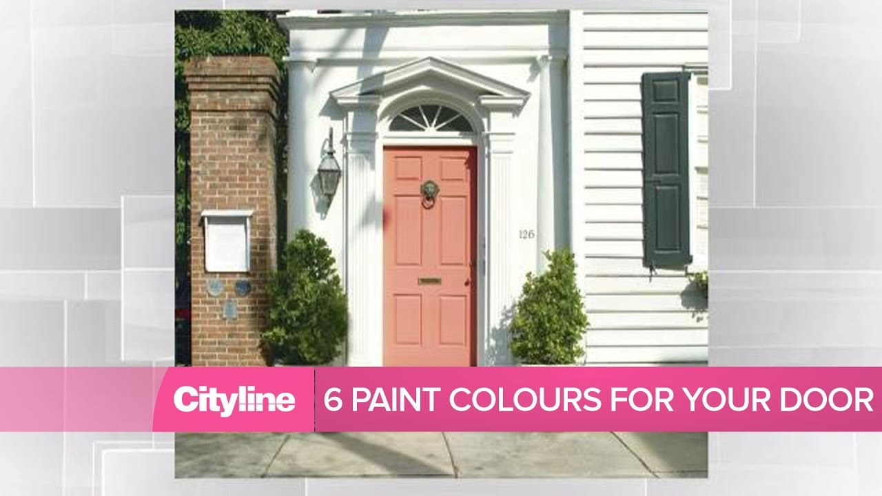 6 Paint Colour Ideas To Update Your Front Door Youtube