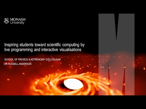 Inspiring students toward scientific computing