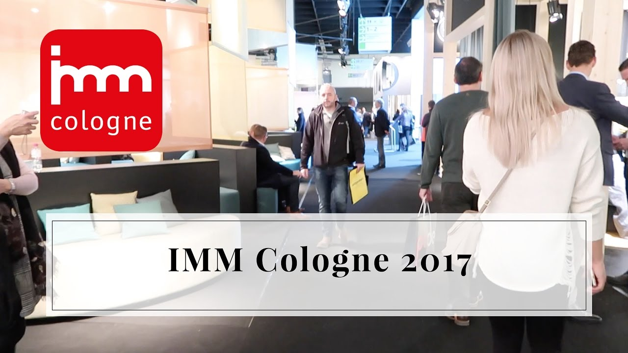 imm cologne 2017 beurs keulen furnlovers youtube. Black Bedroom Furniture Sets. Home Design Ideas