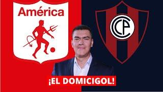 EN VIVO: América de Cali vs Cerro Porteño | El Domicigol de Eduardo Luis