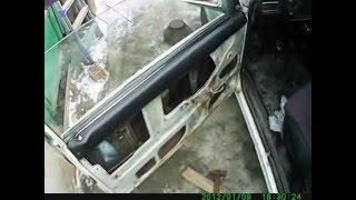 стеклоподемник(как заменить ручной стеклоподёмник