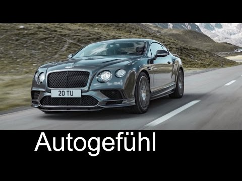 Bentley Continental Supersports 710 hp PS - Autogefühl