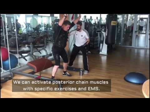 Wiemspro Workouts golf swing 3 Posterior chain activ