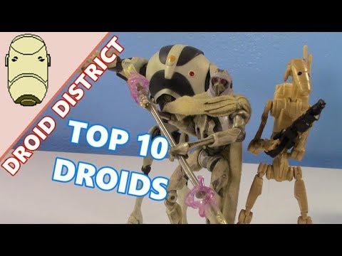 Droid District #1- My TOP 10 Battle Droid Figures!