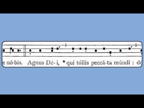 Agnus Dei XVIII (Weekdays in Advent & Lent)