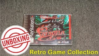 (PS1) Revelations: Persona - Retro Video Game Unboxing