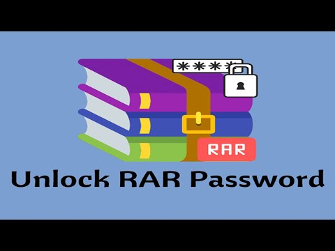 How to unlock password given rar file using online?