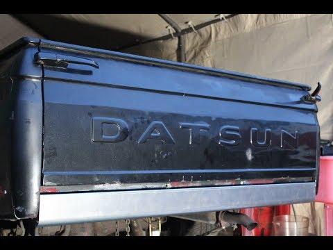The Datsun 521 Gets A New Bumper Set Up!