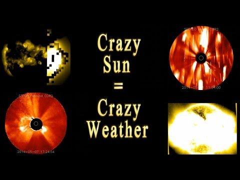 Crazy Sun = Crazy Weather