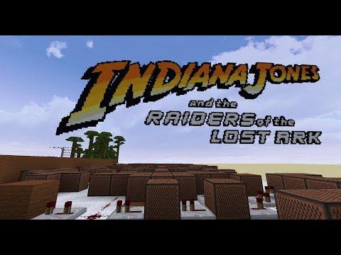 Indiana Jones - Raiders March [Minecraft Noteblocks]
