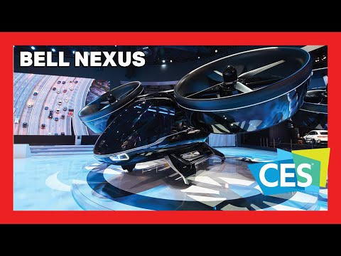 Oggetti Fantastici  0 Nexus Flying Air Taxi