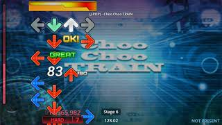 (StepMania PAD) (J-POP) - Choo Choo TRAIN [Hard-7 B]