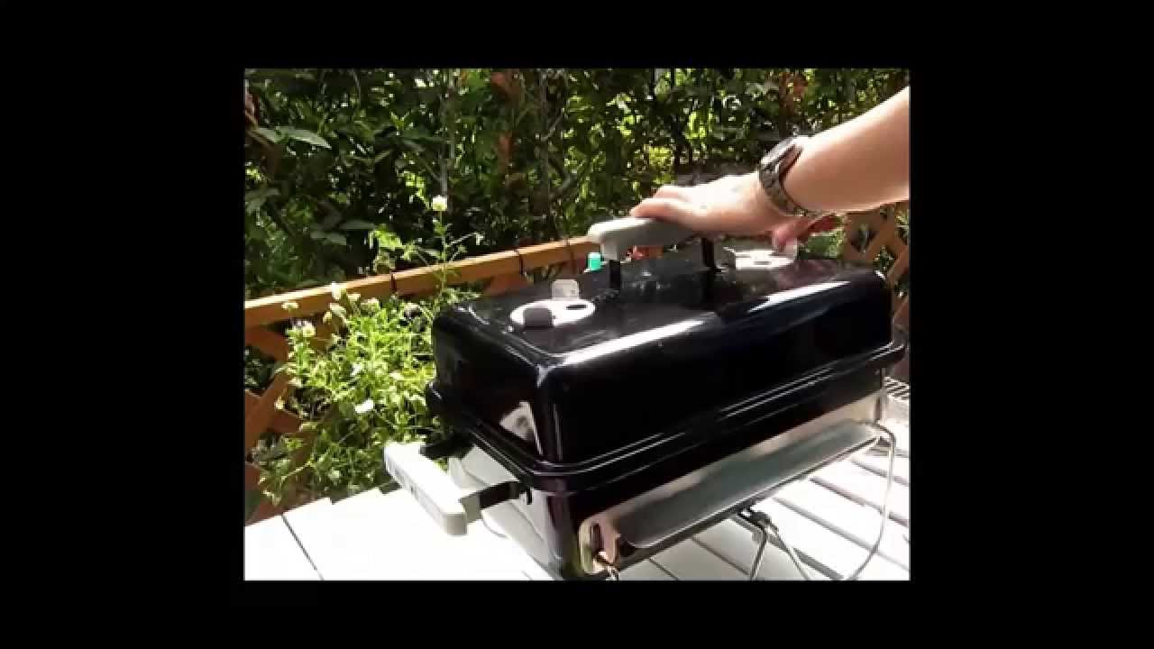 DIY Weber Go Anywhere Grill Yakitori Mod 焼き鳥の焼き方コンロ   YouTube