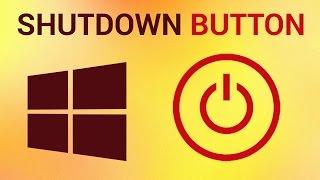 How to Add a Shutdown Button in Start Screen in Windows 8