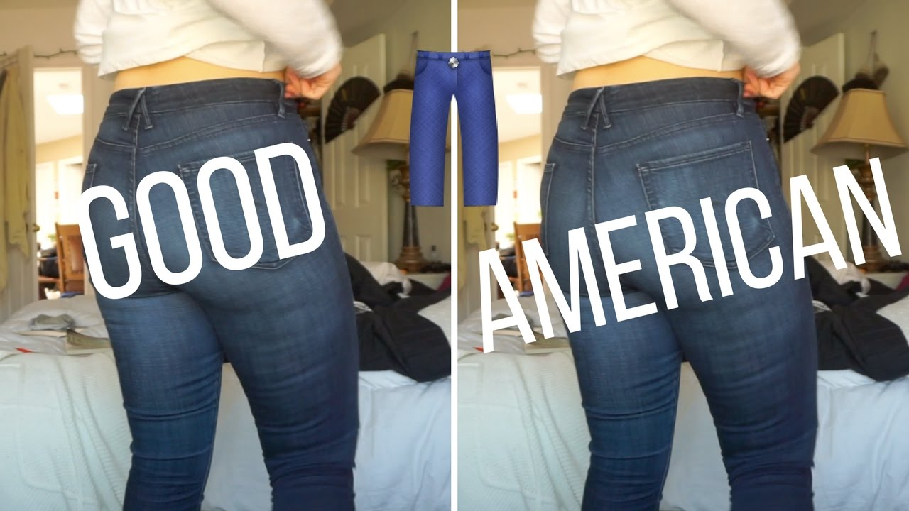 855720230ab97 GOOD // AMERICAN // JEAN REVIEW - YouTube